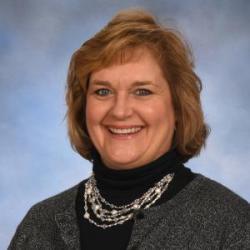 Headshot of Pam Schlegel, Grants & Contracts Specialist